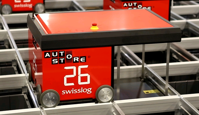 Autostore Goods To Person Automation