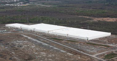 Target Regional Distribution Center in Cornwall, ON, Canada - Photo Courtesy of Cornwall.ca