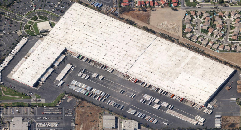Target Regional Distribution Center in Fontana, California