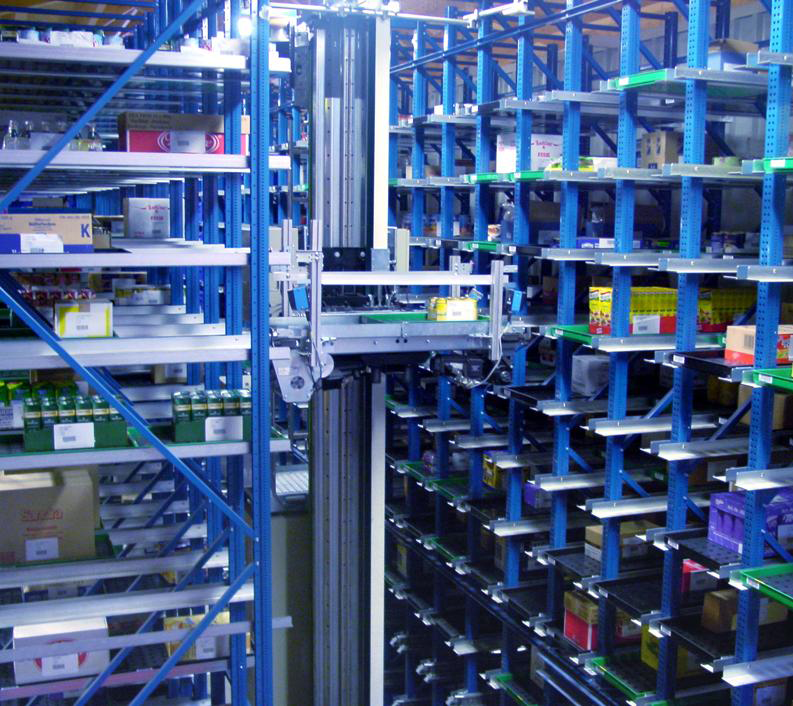 Automated Case Picking for Grocery Distribution