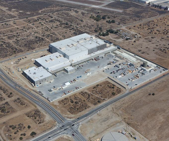 Target Food Distribution Center Rialto, California