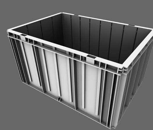 The Typical Storage Bin. Picture courtesy of Swisslog.