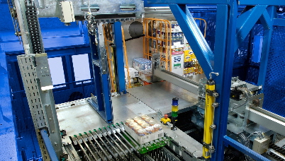 Automated Case Picking in Grocery - Photo Courtesy of WITRON Logistik