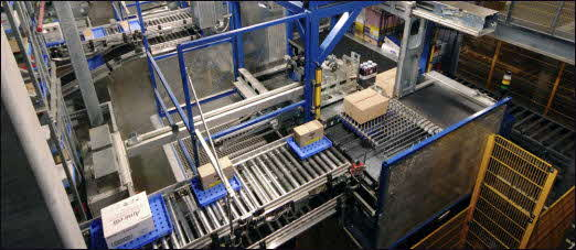 Witron Automated Trays (Photo Courtesy of Witron)